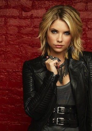 Pretty Little Liars promo shoot of Ashley Benson as Hanna Marin