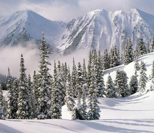 Christmas Winter Wonderland in British Columbia, Canada
