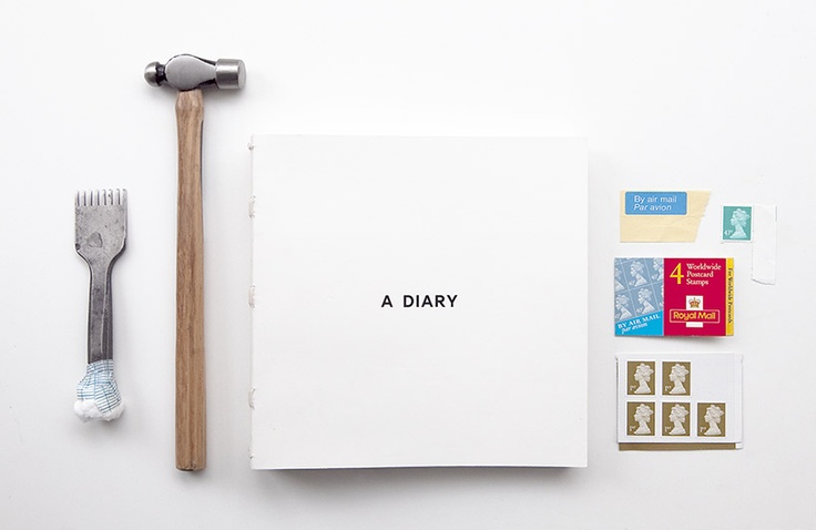 A DIARY by cool enough studio.  www.coolenoughstudio.com