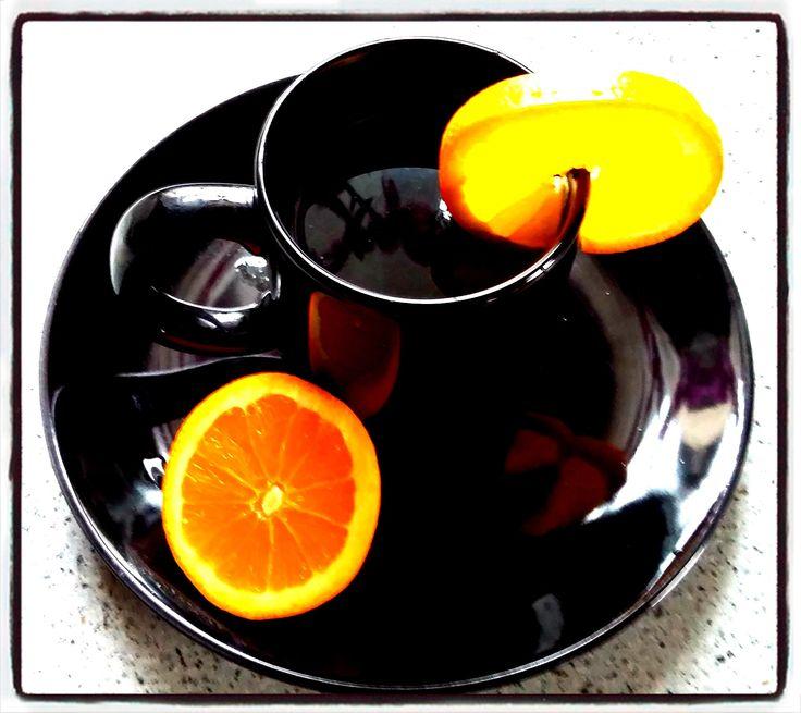 Narancsos tea