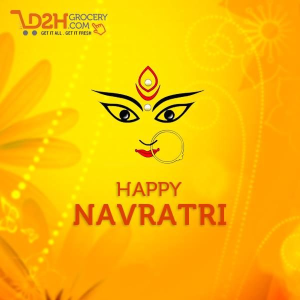May this Navratri enlighten your life with blessings and happy times. #HappyNavratri