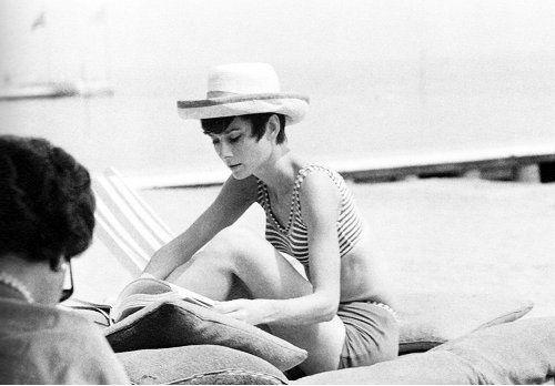 Audrey Hepburn by Yul Brynner, Venice, 1965  #brynner