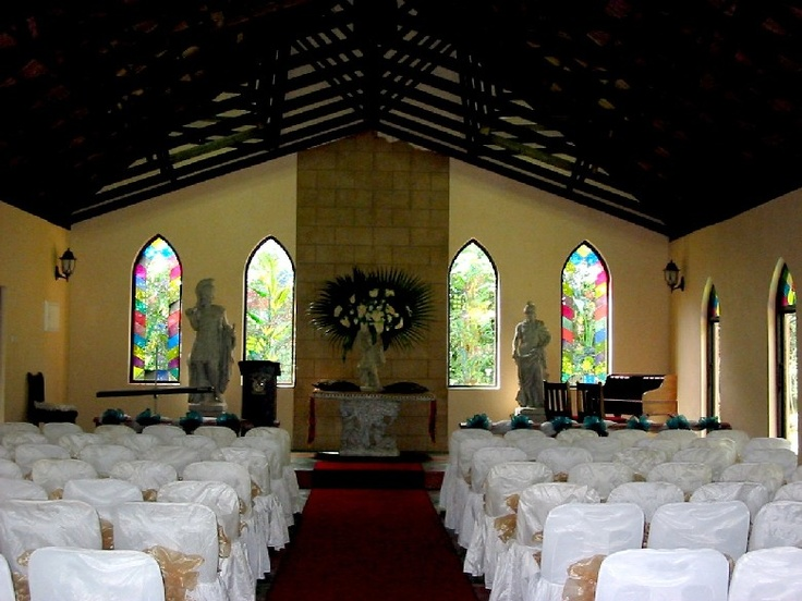 Wedding Ceremonies can be held either in the Chapel or Gardens at Stephward Estate Uvongo, South Coast, KZN