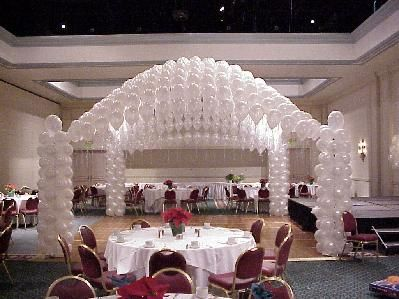Dance floor decorations prom homecoming party prom for Balloon dance floor decoration
