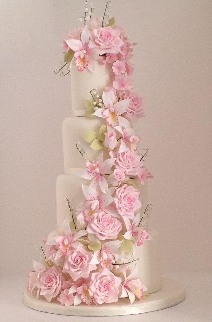 413 best Wedding Cakes images on Pinterest | Cake wedding, Petit ...