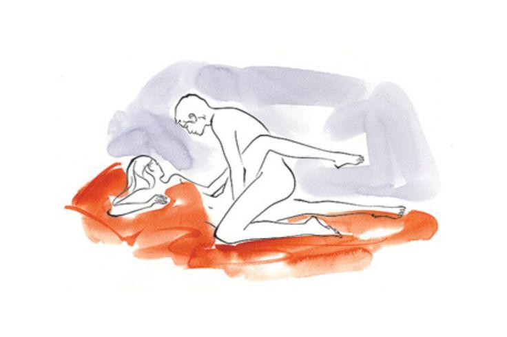 Pretzel dip position