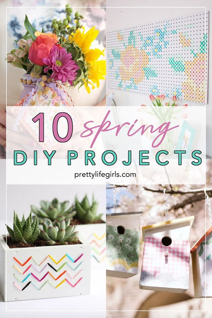 Spring Diy Projects Easy Crafts
