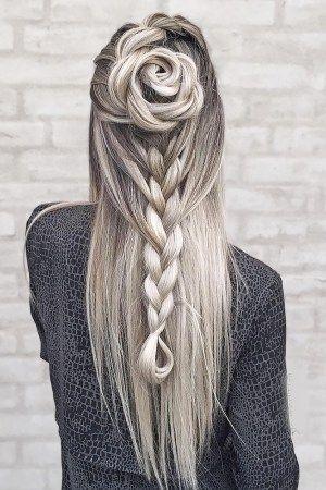Romantic wedding hair ideas you will love (68)