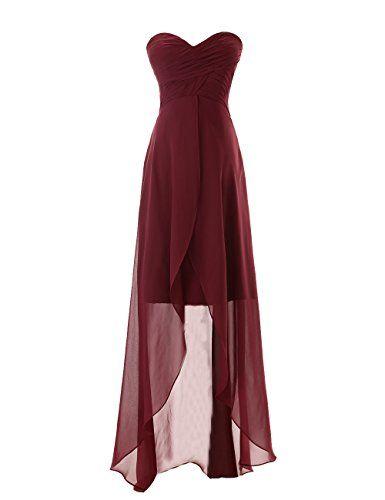 Diyouth Sweetheart High-low Chiffon Bridesmaid Dress Burgundy Size 12 Diyouth http://www.amazon.com/dp/B00LQMTIYA/ref=cm_sw_r_pi_dp_ukF1tb06WSH1P3ZX