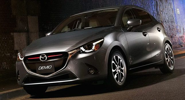 Carscoops: New 2015 Mazda2 Officially Breaks Cover [75 Photos & Videos]