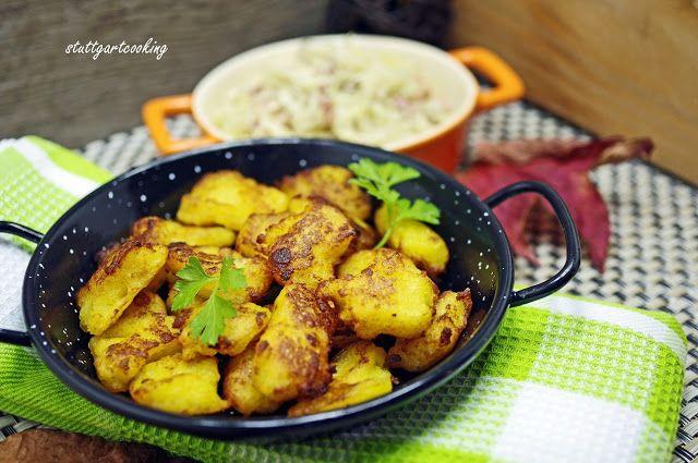 stuttgartcooking: Kartoffel-Stierum und warmer Krautsalat mit Speck, eine Herzensangelegenheit!