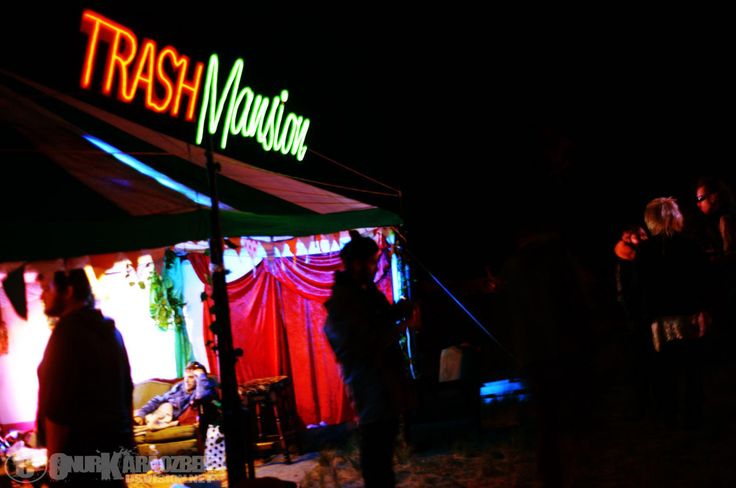 2012 Trash Mansion does what it does best - beer, bands and trashy party bashing. Pic: Onur Karaozbek http://dsvision.net/