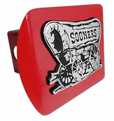 University of Oklahoma Sooner Schooner Red Hitch Cover