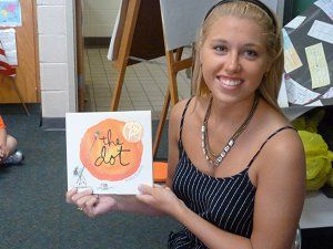 Mrs. Molishus's post has a TON of great #DotDay ideas!