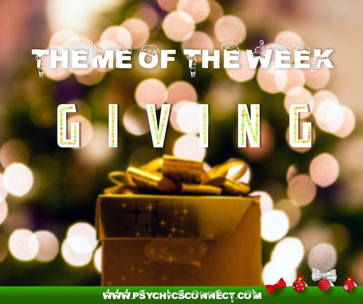 Theme of the week: GIVING  Giving is one of the best investments you can make towards achieving genuine happiness. True #giving comes from the heart, with no expectation of reciprocation