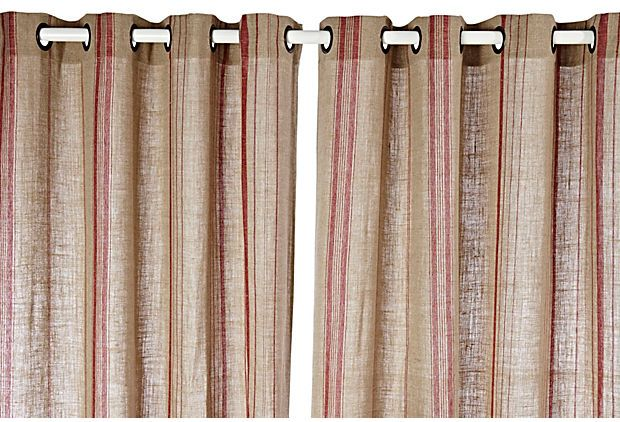 1000 Images About Curtains On Pinterest Fabrics Red