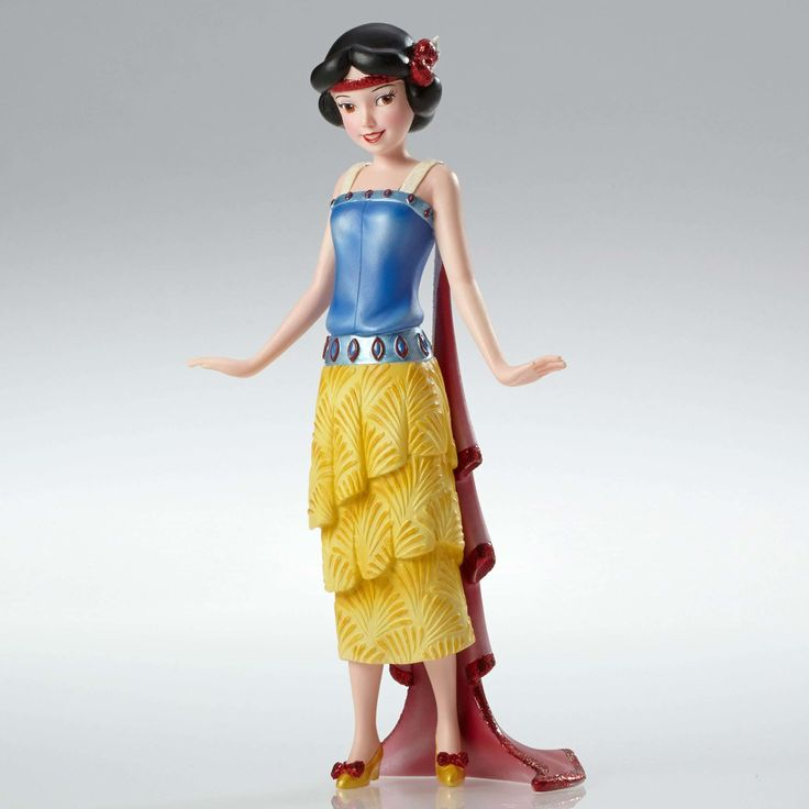 Snow White and the Seven Dwarfs - Art Deco Snow White - Walt Disney Showcase Collection - World-Wide-Art.com - #disney #disneyshowcase #figurines #snowwhite #artdeco