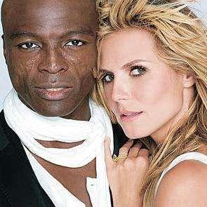 power biracial couple Seal and Heidi Klum