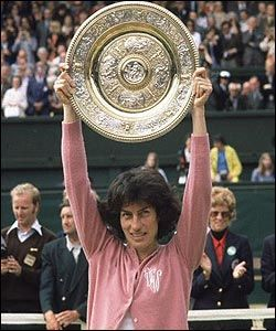 Has it really been since 1977 since a Brit won Wimbledon?  All hail Virginia Wade!