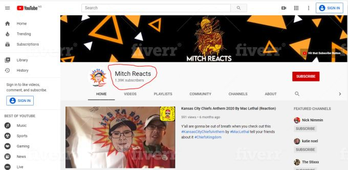 Sonia 001 I Will Promote Youtube Channel To Increase Subscribers Fast For 5 On Fiverr Com Community Channel You Youtube Youtube