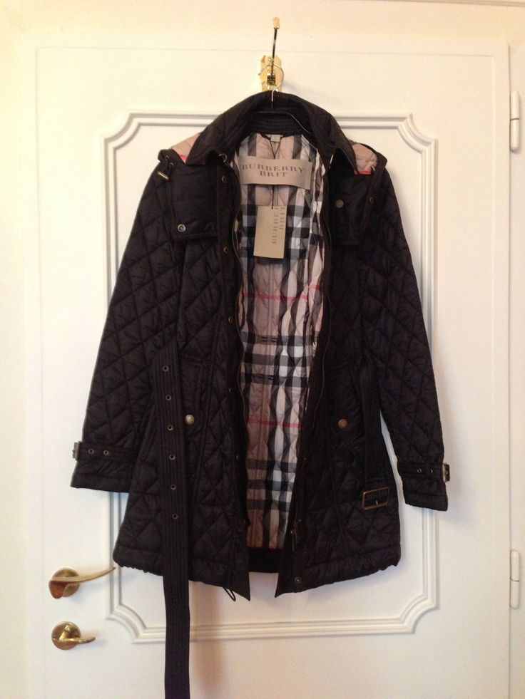 BURBERRY Brit Heritage Quilted Coat