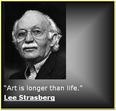 Acting isn't something you do. Instead of doin by Lee Strasberg ...