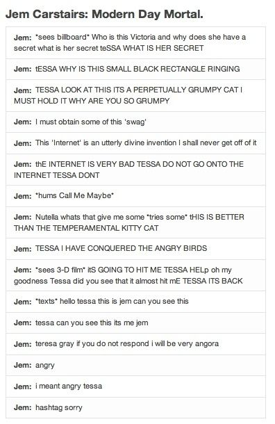 Why is this so funny? From The Infernal Devices