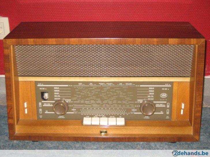 Antieke radio (SBR) model R20, Jaren 50s