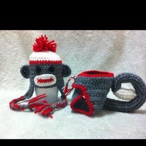 Free Crochet Pattern Monkey Diaper Cover : 140 Best images about Crochet baby toboggans on Pinterest ...
