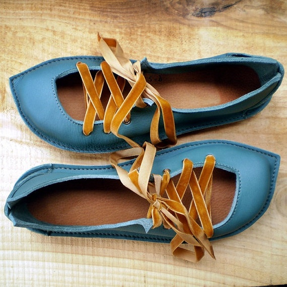 handmade leather Fairy Shoes in jade ♥ ♥ ♥ ♥ ♥ ♥ ♥ ♥ ♥ ♥ ♥ ♥ ♥ ♥ fashion consciousness ♥ ♥ ♥ ♥ ♥ ♥ ♥ ♥ ♥ ♥ ♥ ♥ ♥ ♥ ♥ ♥