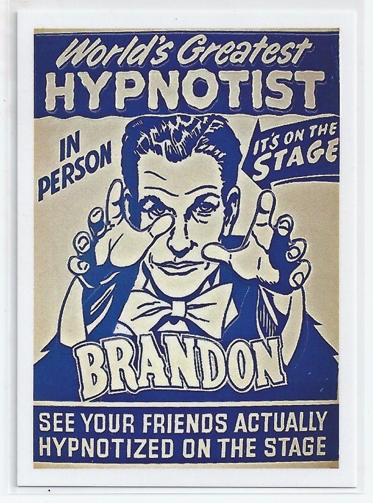 93 best images about Hypnotist Posters on Pinterest