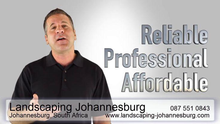 Landscaping Johannesburg