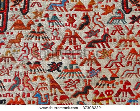 turkish kilim silk on the wall