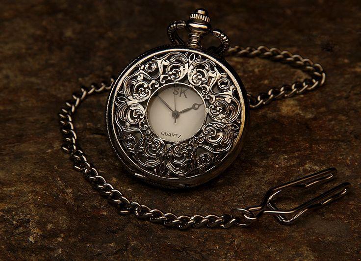 Taschenuhr, Juwel, Kette, Stein, Zeit, Uhr, Stunde