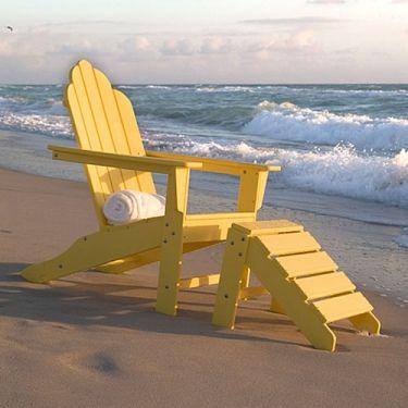 POLYWOOD Long Island Adirondack Chair