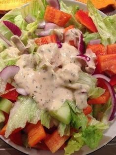Salat-Dressing mit Joghurt (ohne Sahne) für alle Salate geeignet – Sabine Köhler