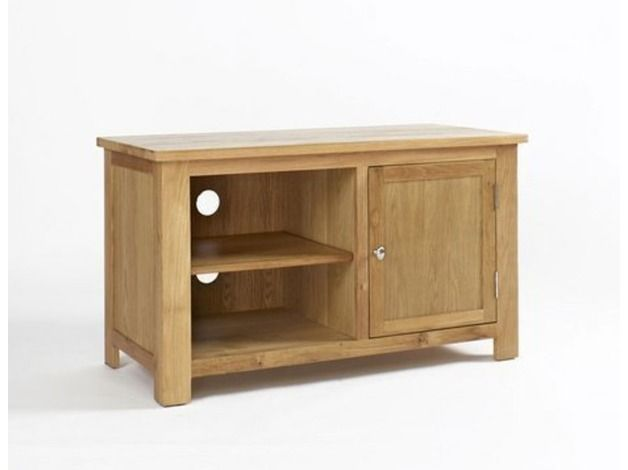 Lansdown Oak Tv Stand With 1 Door in Hull HU1 on Freeads Classifieds - TV Stands classifieds