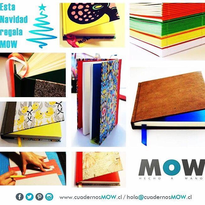 Regala MOW... Contáctame en el fan page de facebbok o al correo hola@cuadernosmow.cl