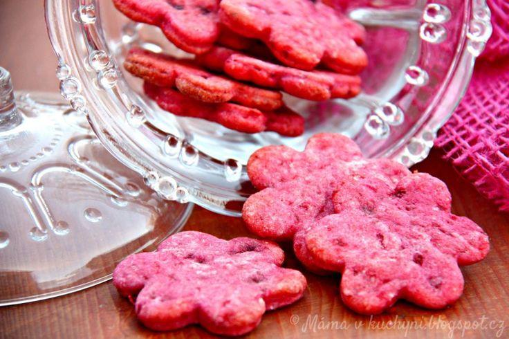 Sušenky z červené řepy pro děti od 1 roku