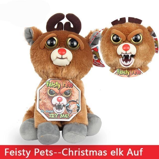 Funny Monkey Plush Christmas Elf Auf Christmas Animals Plush