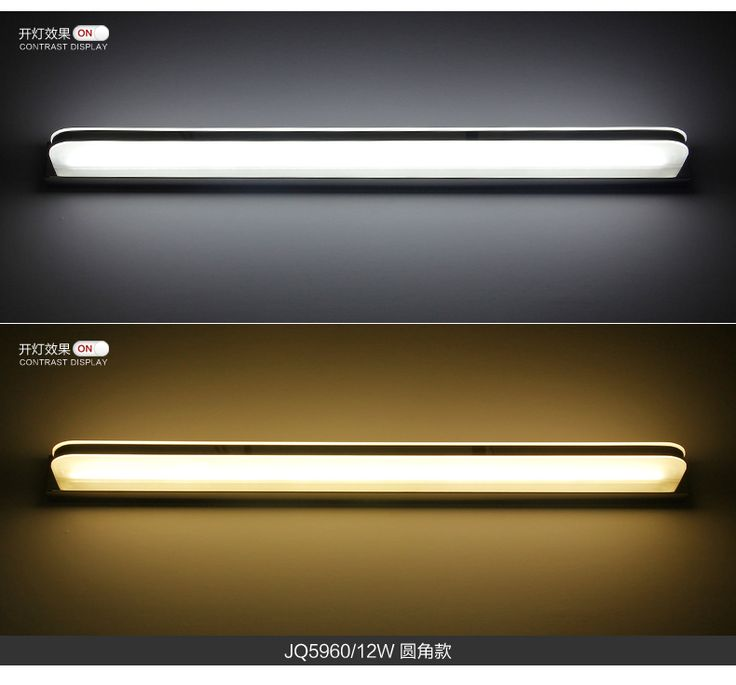 Lente levou farol à prova d' água anti fog espelho do banheiro luz do banheiro contemporânea e contratados poupança de energia lâmpada de parede em Luzes de parede de Iluminação no AliExpress.com | Alibaba Group