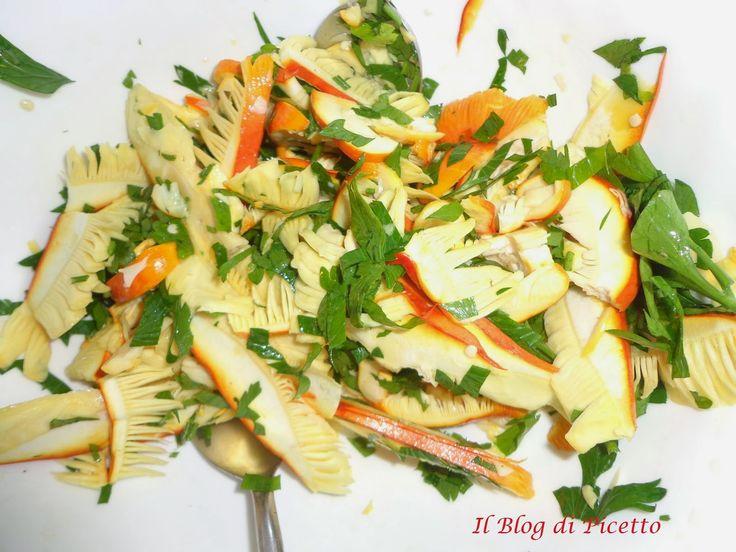 Il Blog di Picetto: Amanita caesarea (ovolo buono) in insalata