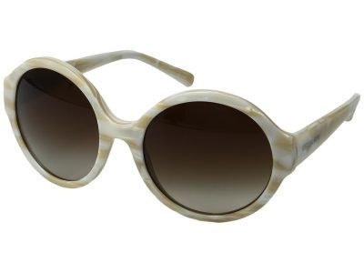 Michael Kors - Seaside Getaway (Ivory/Smoke Gradient) Fashion Sunglasses