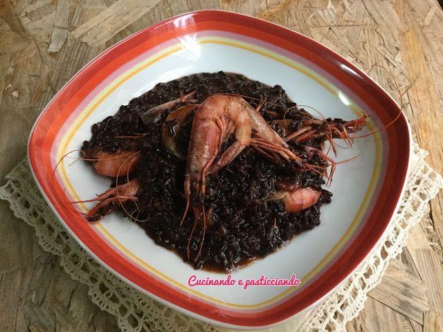 Cucinando e Pasticciando: Riso Venere integrale ai Gamberetti