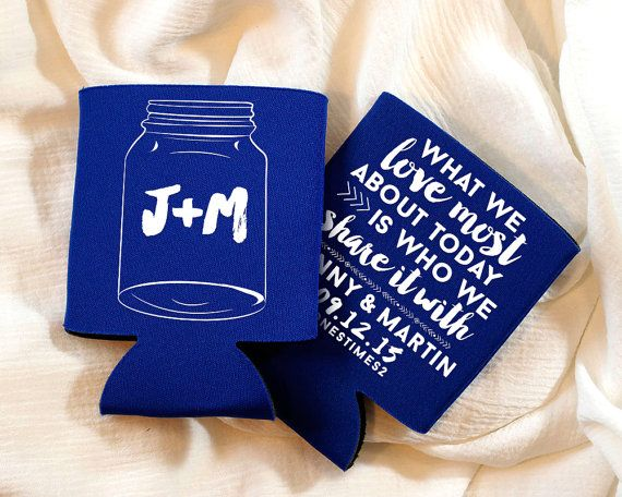 400 best images about Koozies - Wedding + Party Favors on ...