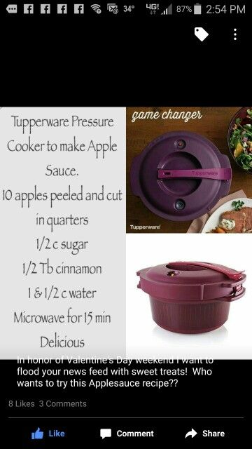 tupperware microwave pressure cooker instructions
