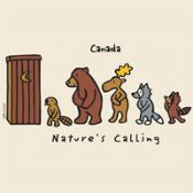 Canadian T-Shirt (Adult) - Nature's Calling - $19.95