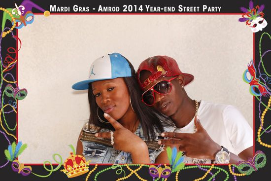 Gallery Amrod Year - End Street Party - 6 December 2014   Photo Booth 2   Face-Box