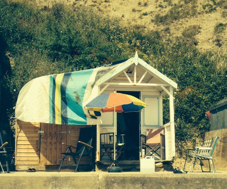 Swanage- Beach huts