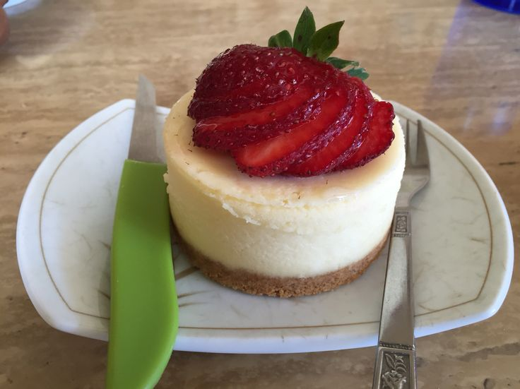 Strawberry Cheesecake, JJ's Bistro & French Pastry